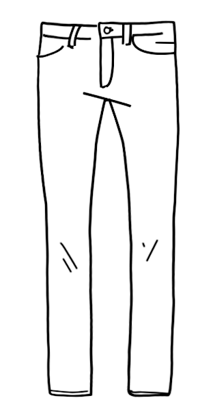 Jeans Passformen