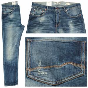 MAC Arne Jeans, middleblue destroyed