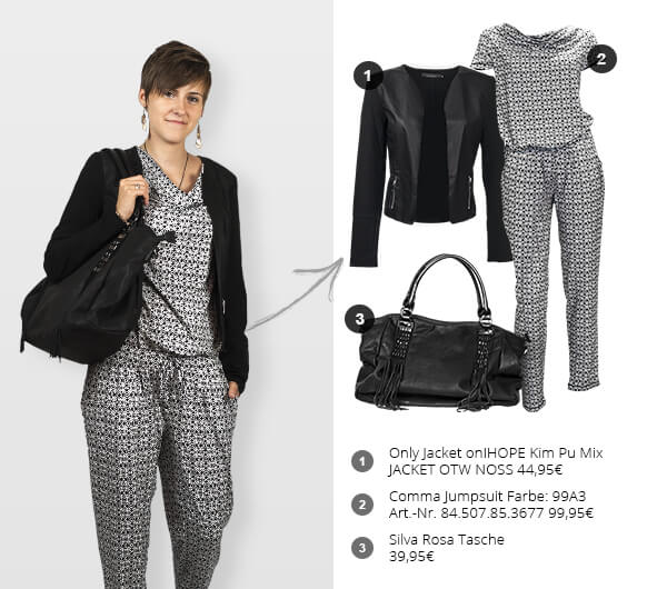 Outfit der Woche: Black and White