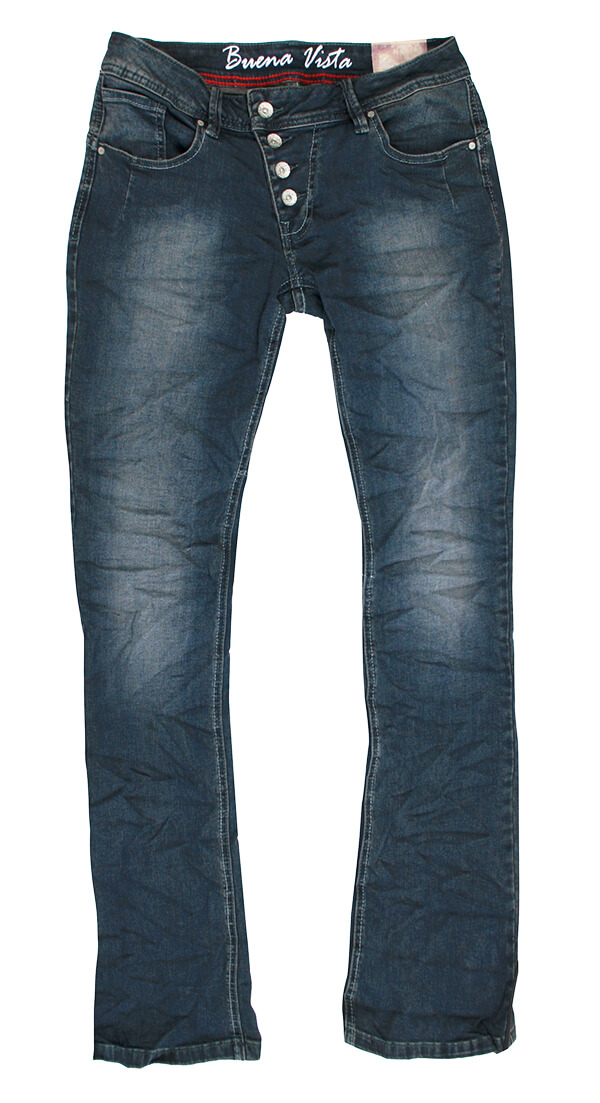 Buena Vista Malibu Flare Jeans shadowblue