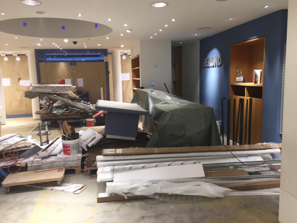 Umbau Eierund Mode Hildesheim 2016