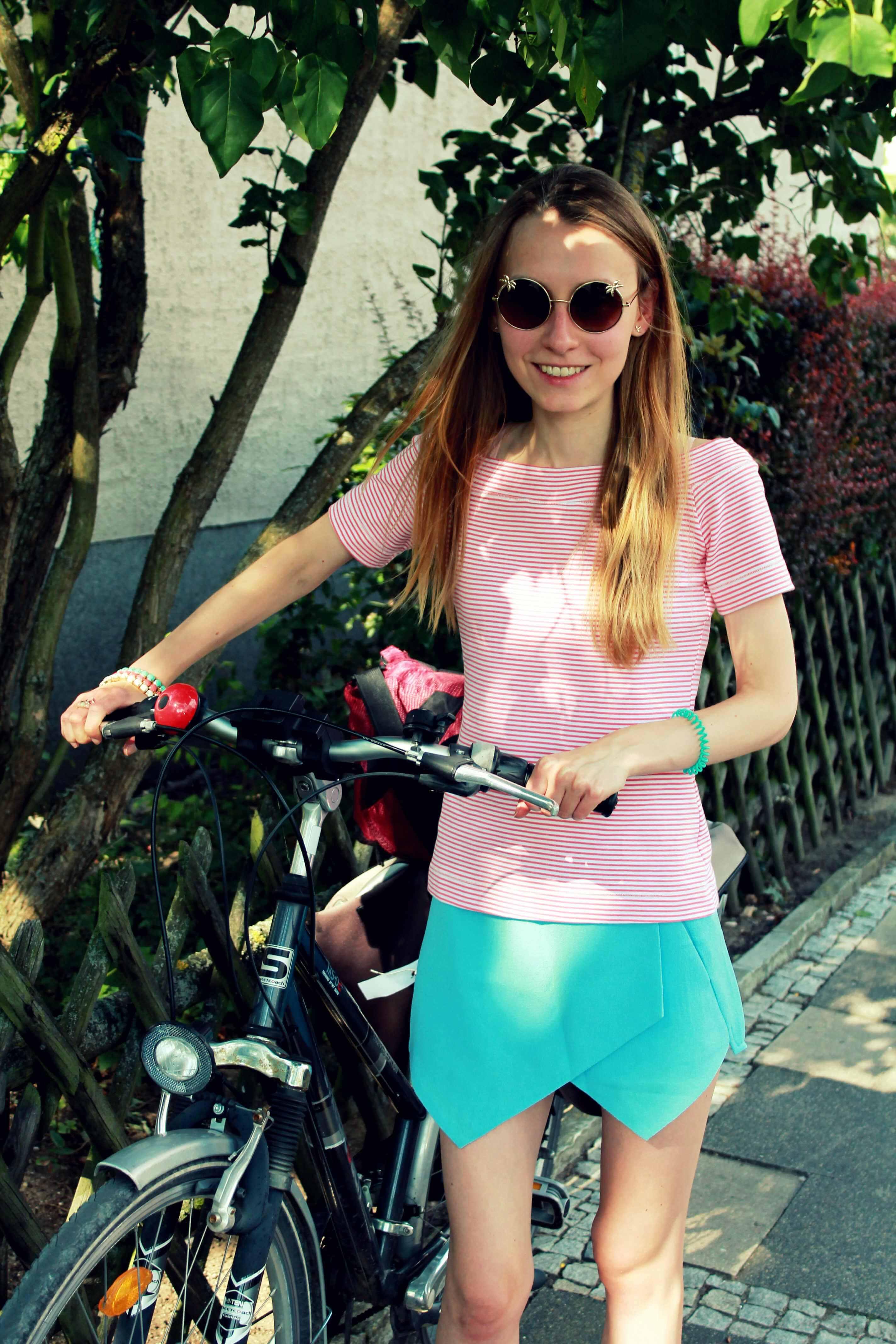 Fahrradfahren_Skorts