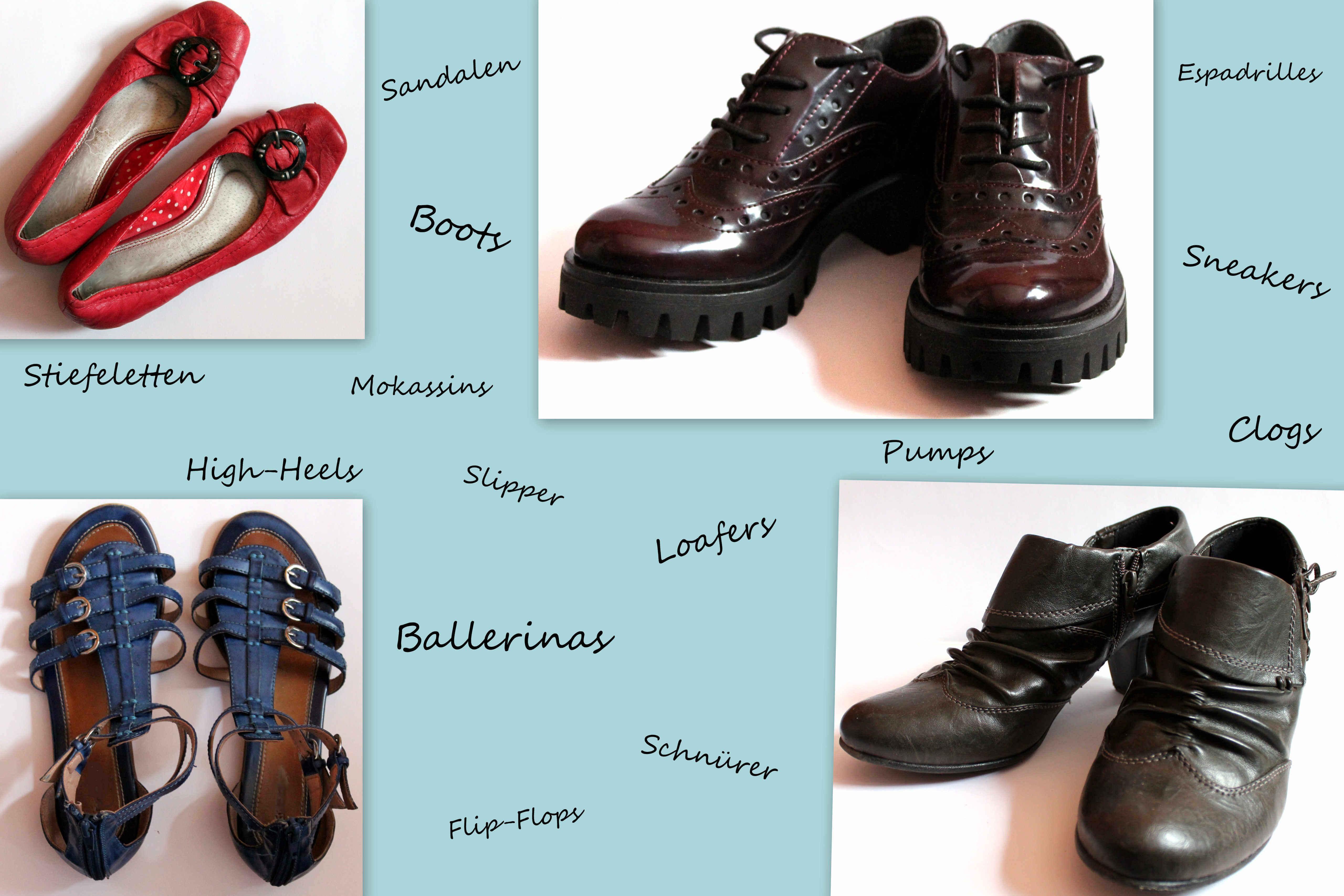 Welche Schuhe braucht eine Frau? Wir wissen es!