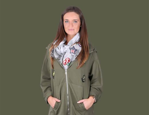 Der Army Look für Frauen