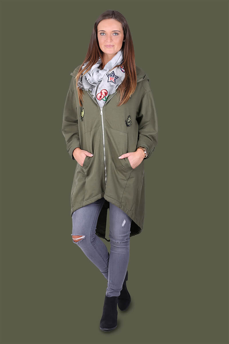 Outfit für den Herbst - Army