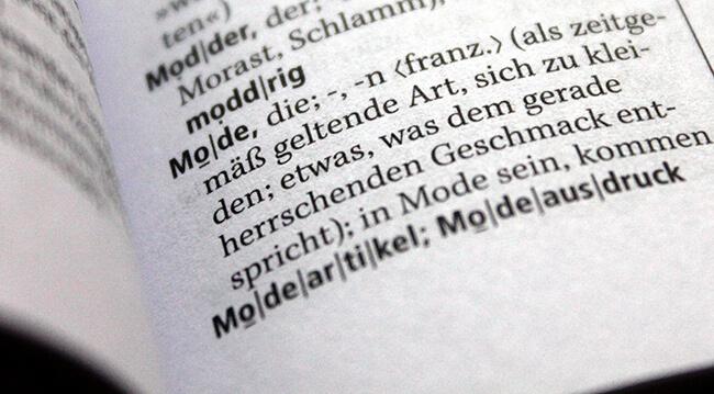 Modelexikon online Modewissen