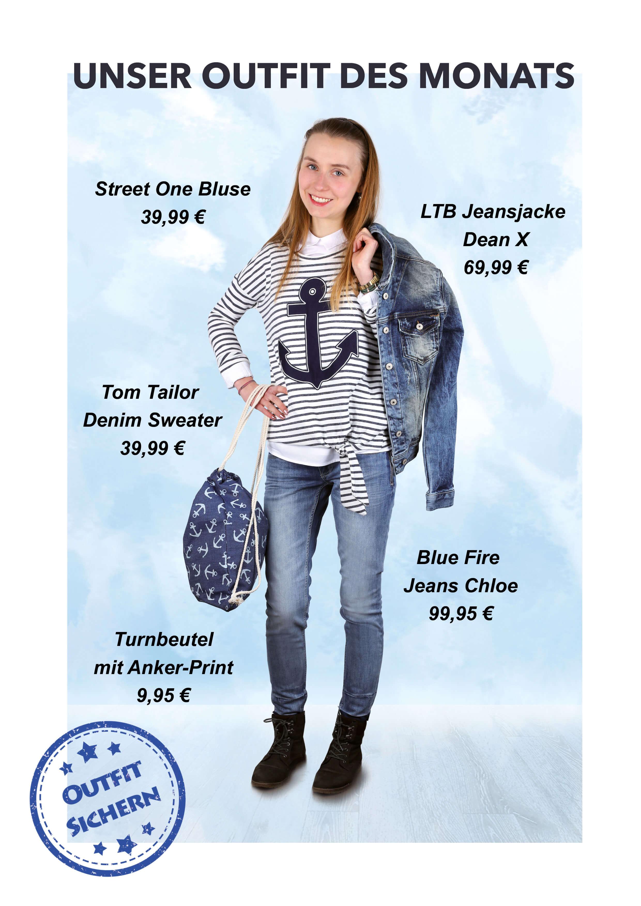 Das Outfit des Monats bei Eierund Hildesheim/HoseOnline