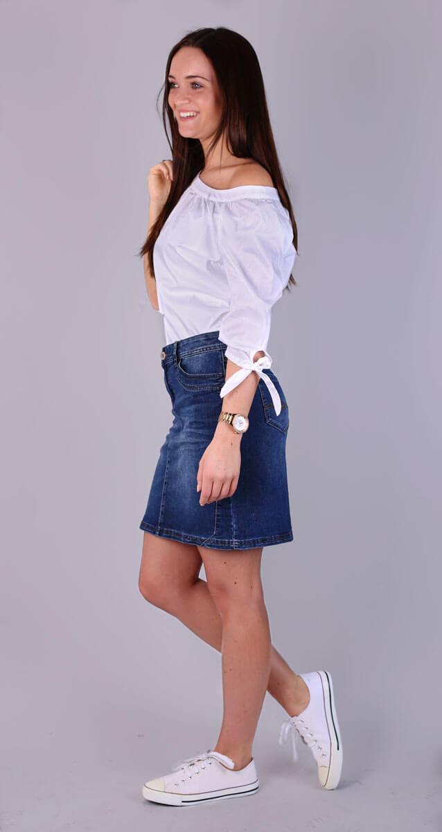 80a084189d8a Jeansröcke - Die Klassiker sind zurück. So trägt man sie!