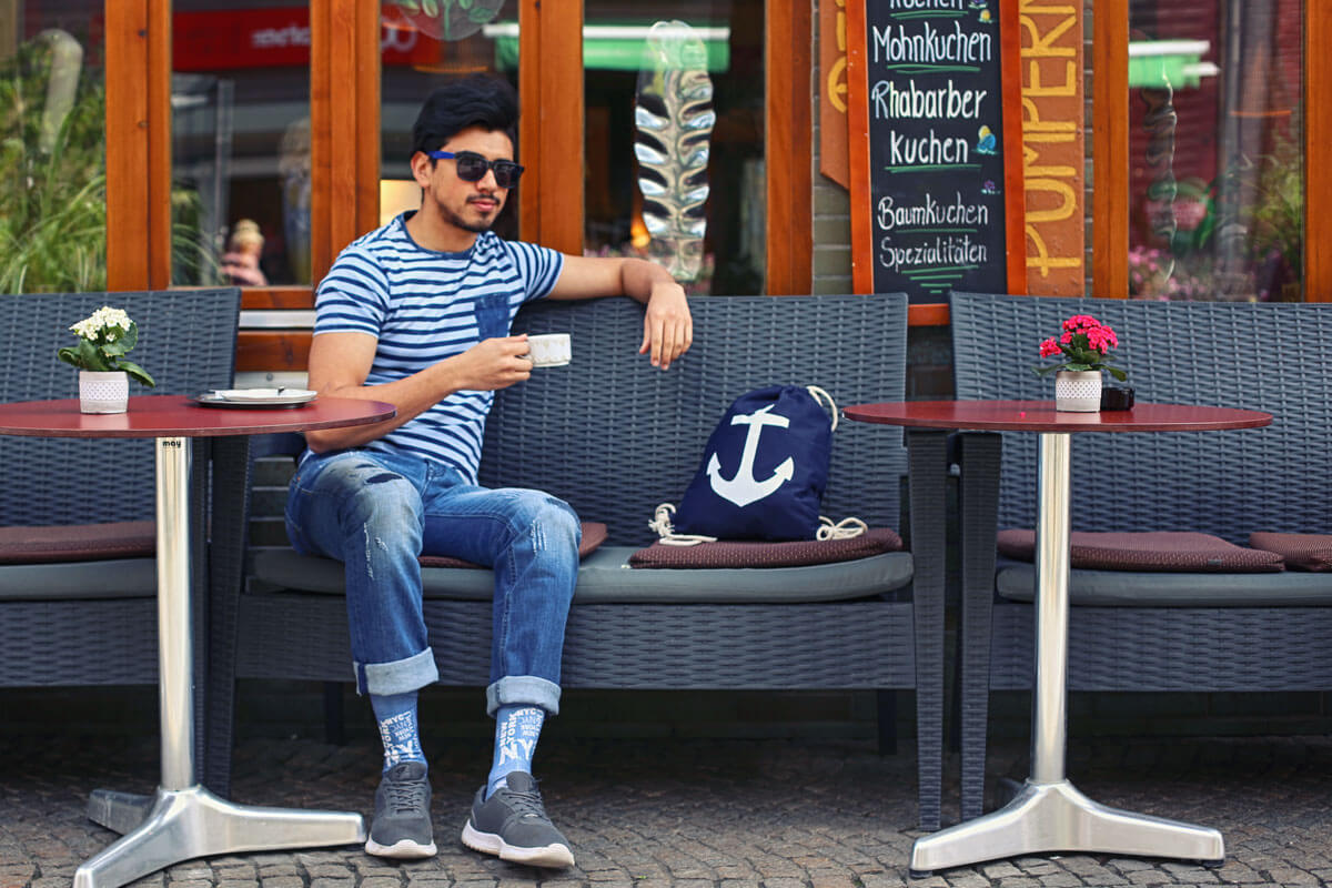 Der maritime Look ist in diesem Frühling auch bei Männern Trend