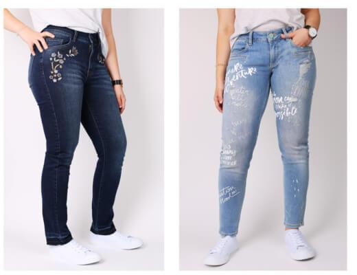 Welche Jeanstrends gibt es gerade in der Frauenwelt?