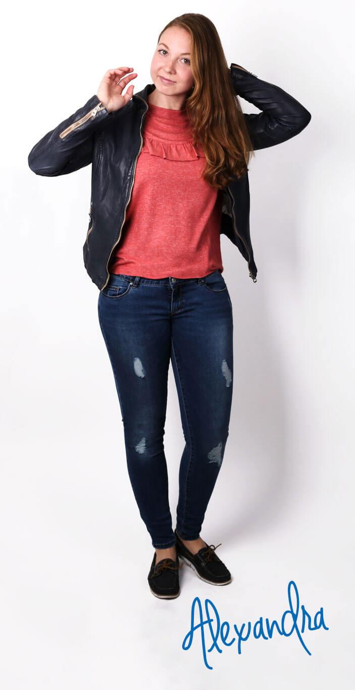 Look Nr. 1: Alexandra