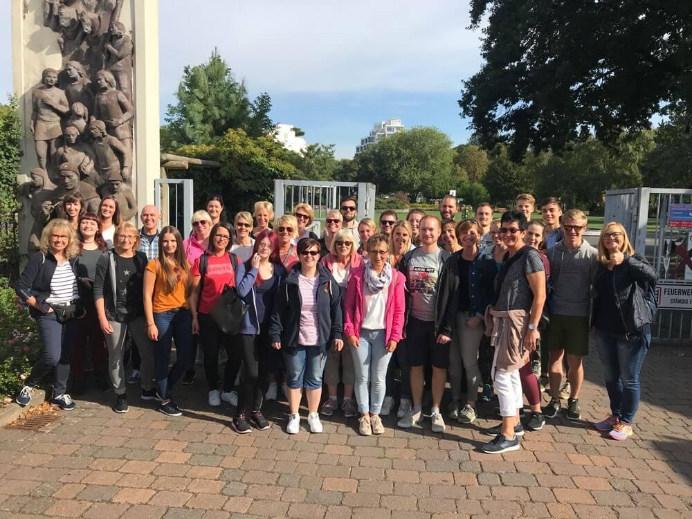 Unser Team in der Rattenfängerstadt Hameln