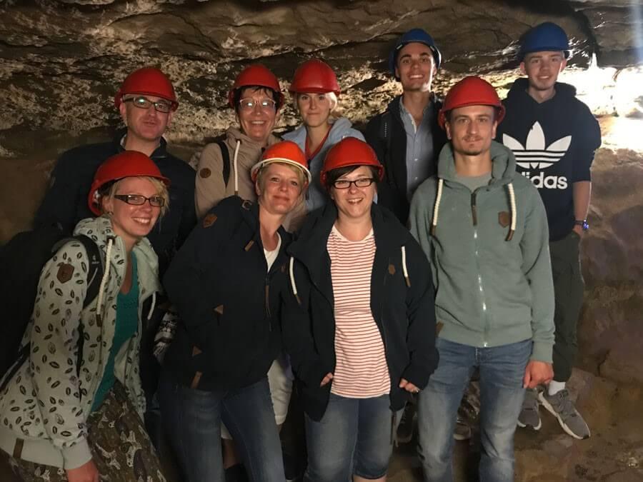 Abkühlung verschaffte die Schillat-Höhle