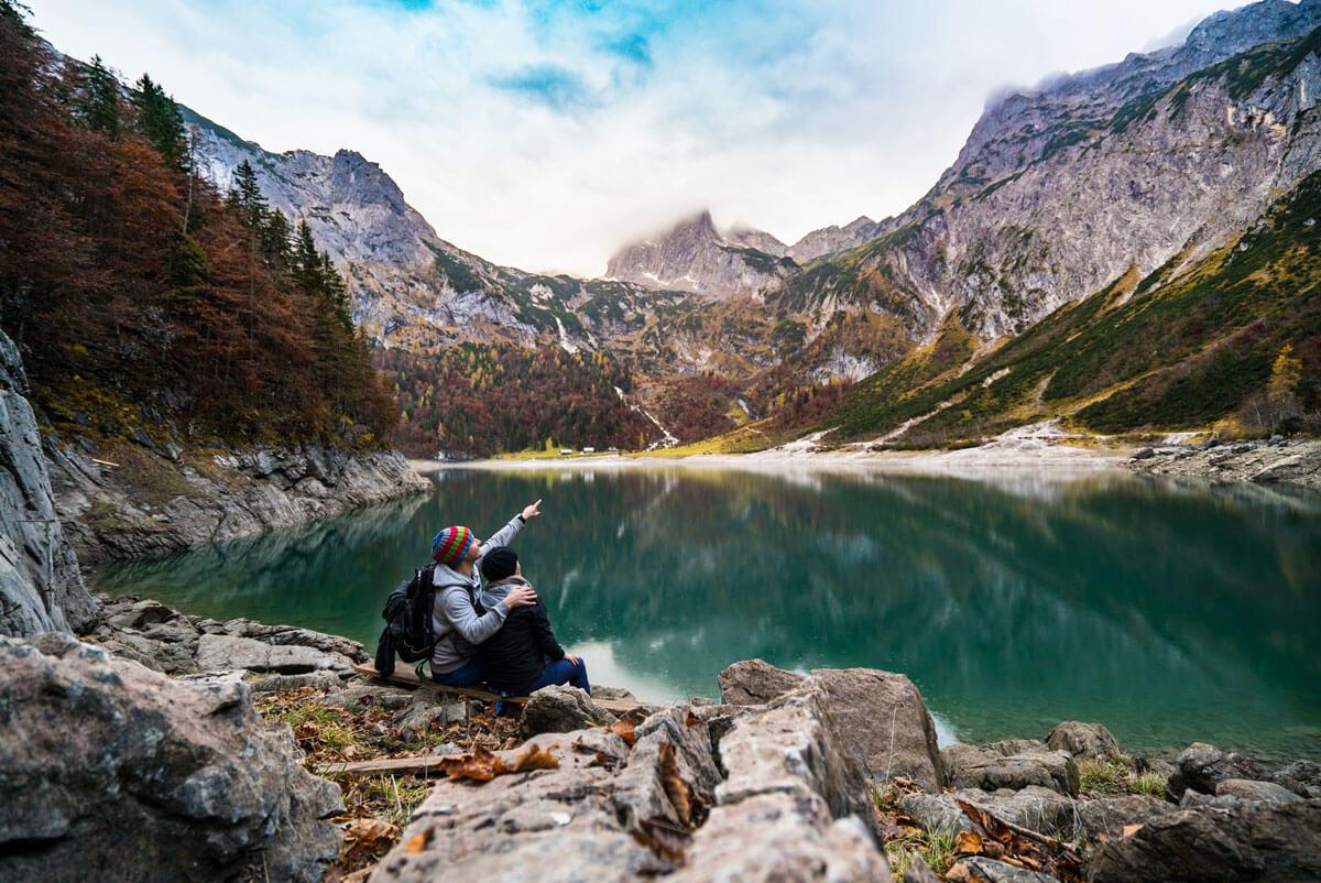 Herbsturlaub in den Alpen