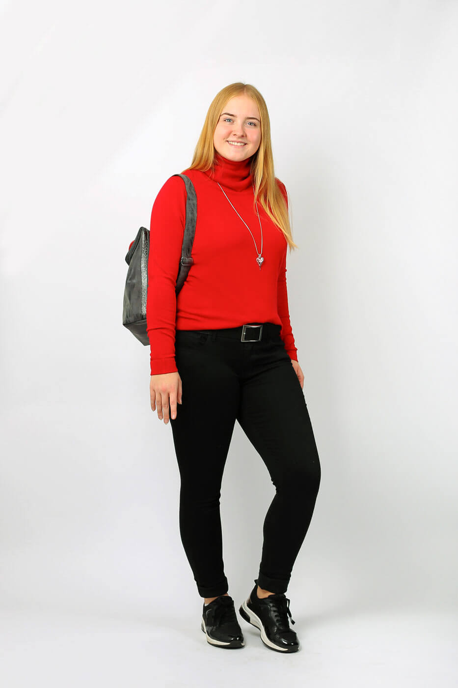 Weihnachtsfeier Outfit casual-chic