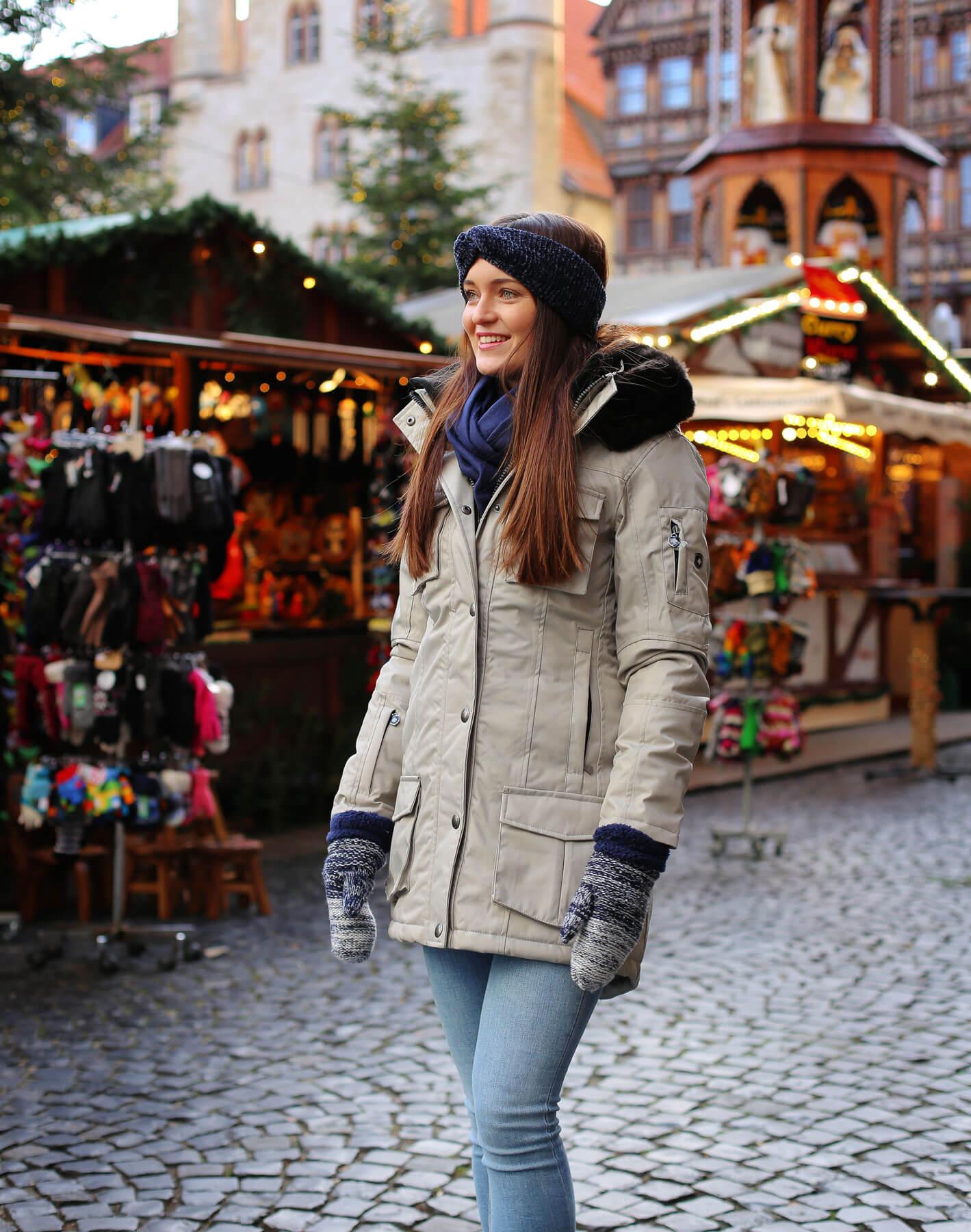 Weihnachtsmarkt Outfit
