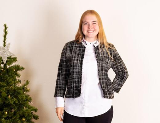 Weihnachten Damen Outfit