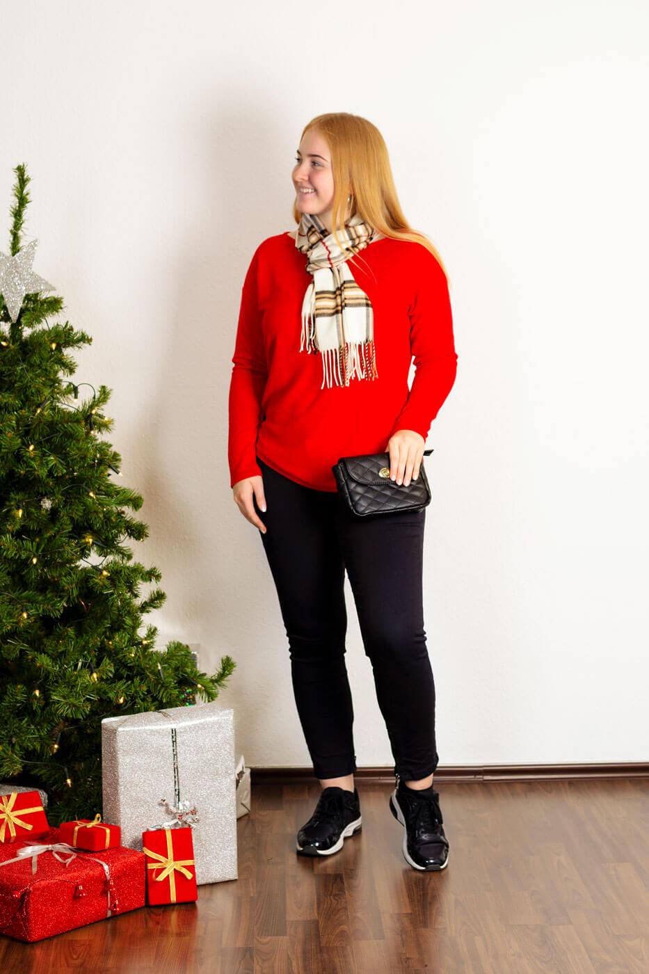 Weihnachten Outfit Damen