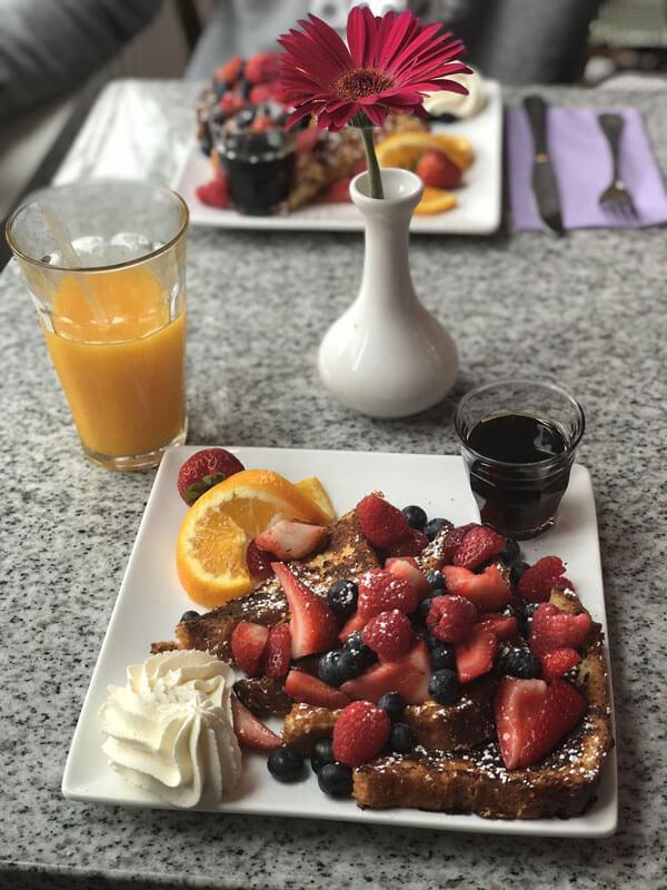 Frühstück in der Lilac Patisserie