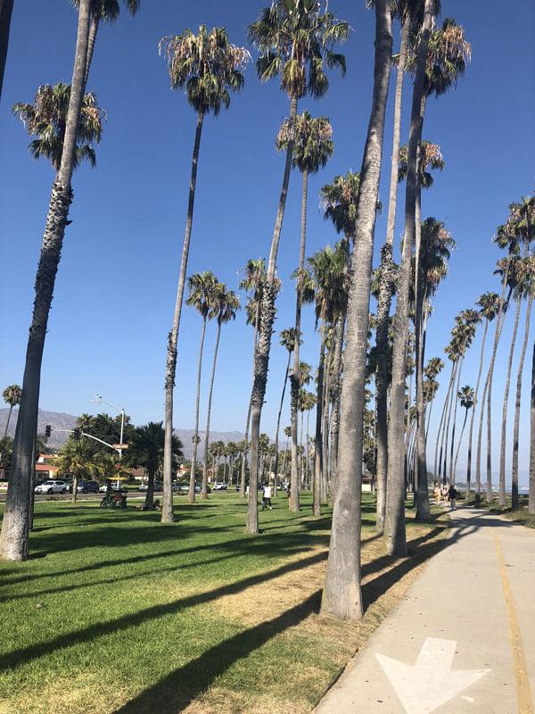 Santa Barbara Strandpromenade
