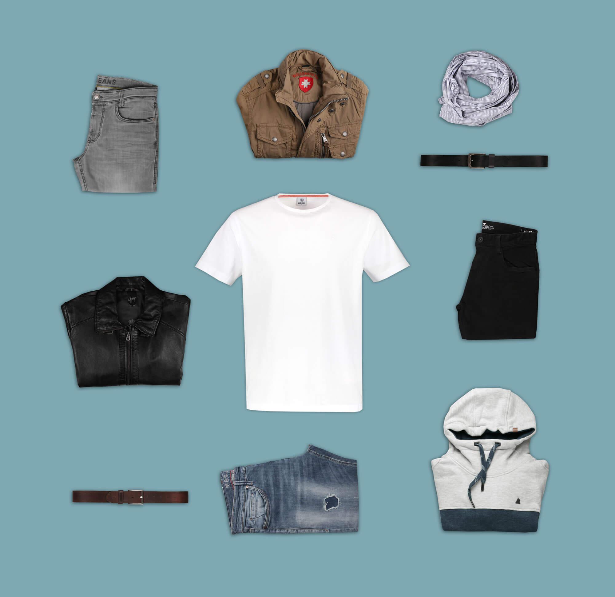 Ein Shirt - Drei Looks
