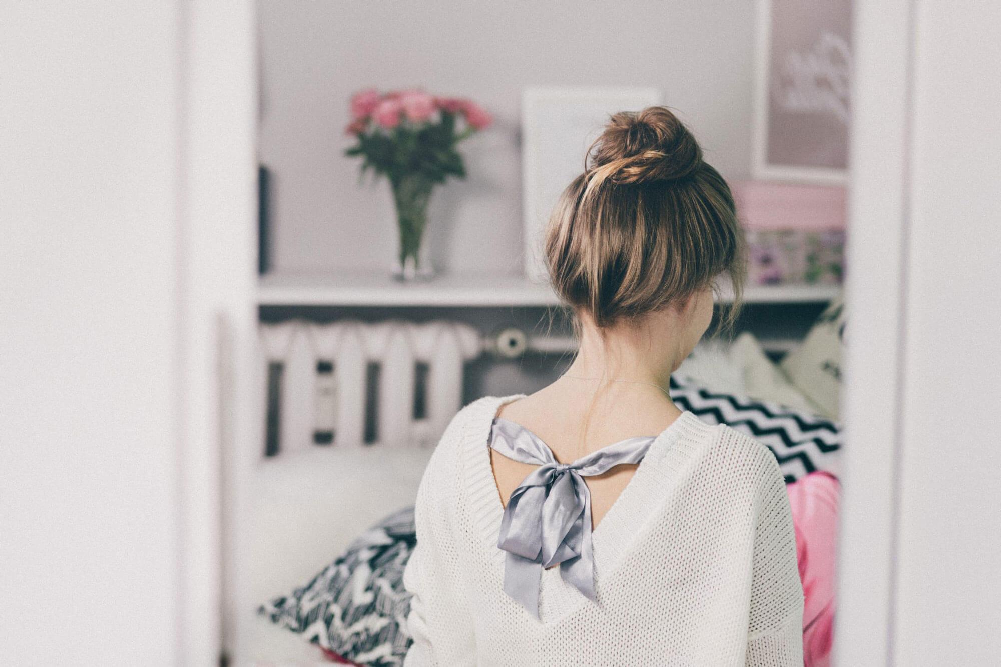 Mittellange Haare Trendfrisur