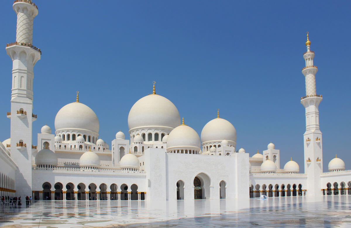Scheich Zayid Moschee Abu Dhabi