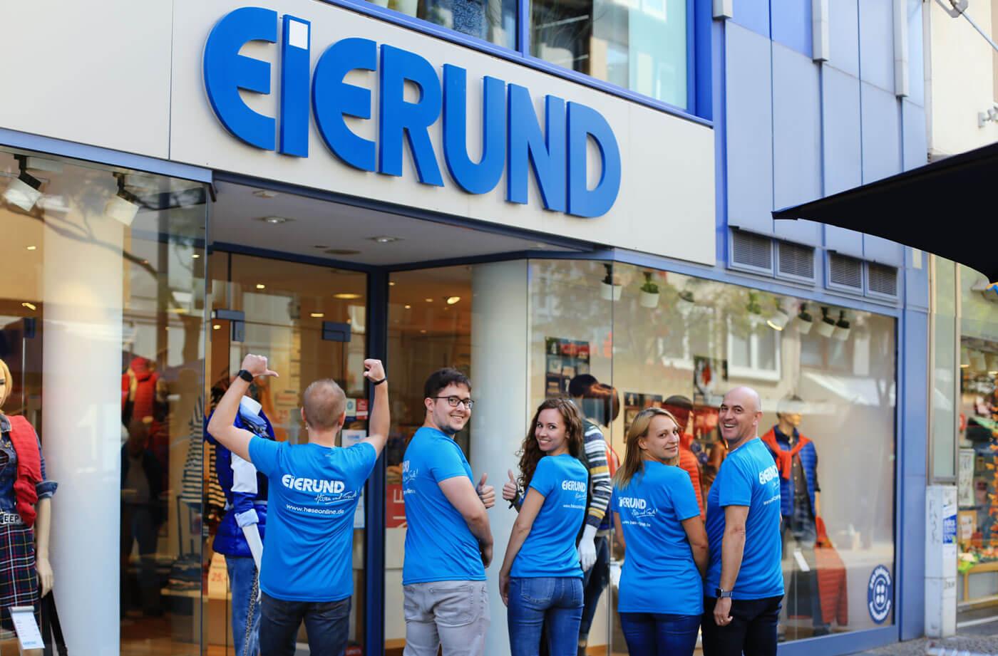 Firmenlauf Team Eierund