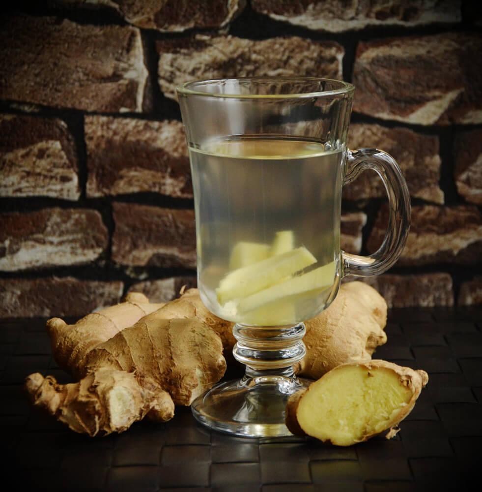 Ingwer-Tee für die Gesundheit