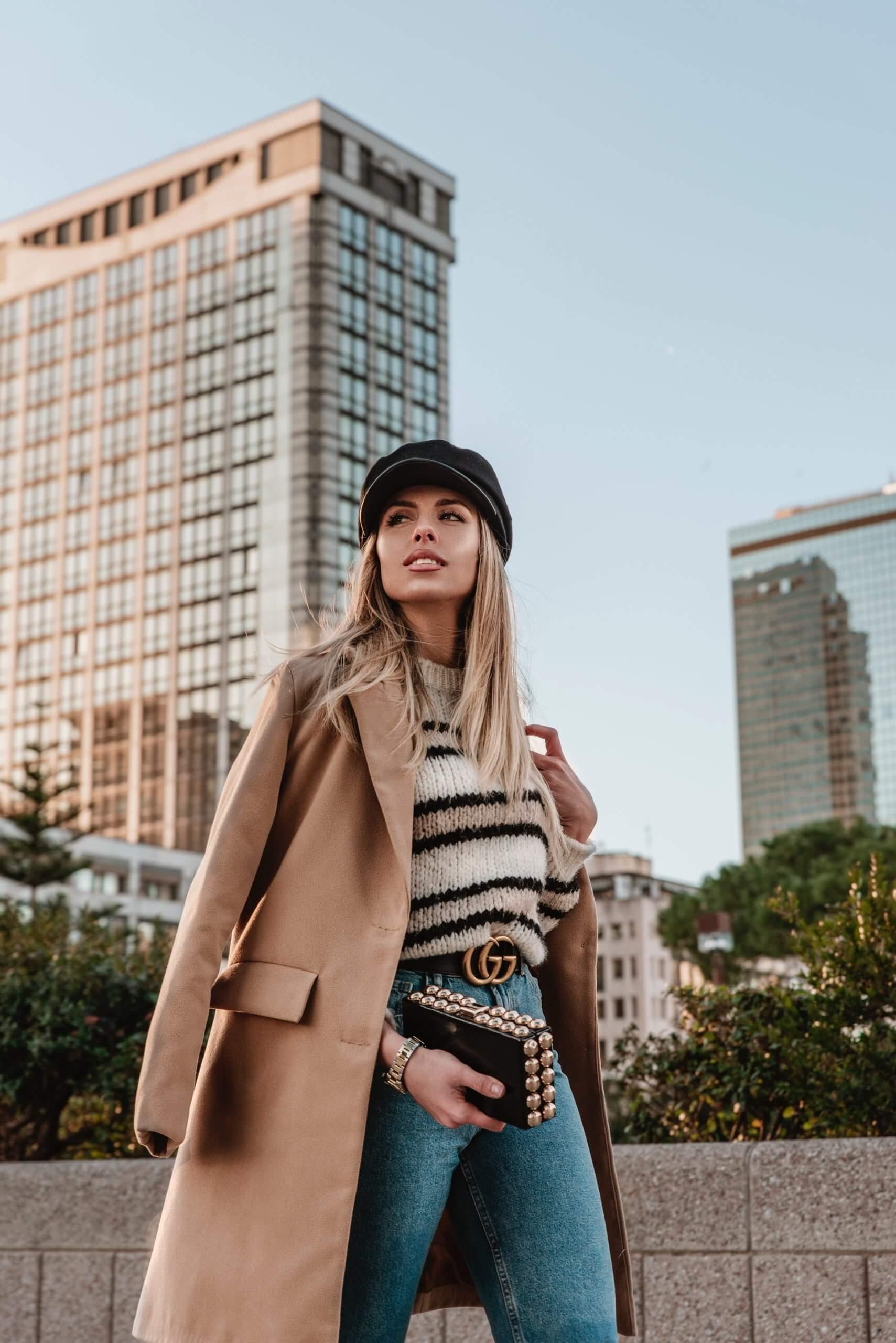 Ein stylischer Look aus 2019
