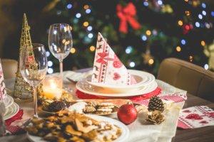 Festlicher Schmaus zu Weihnachten