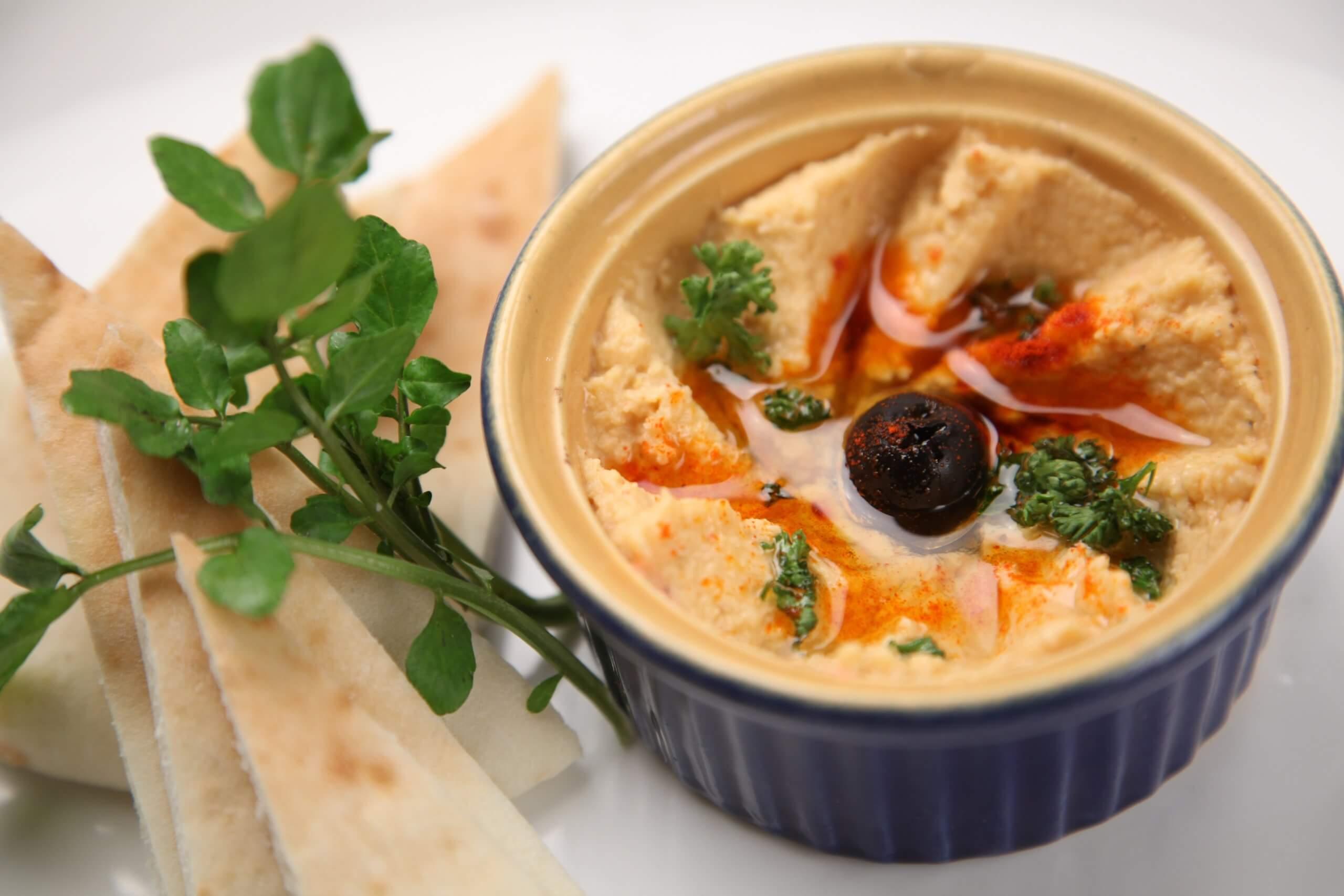 Frischer Hummus