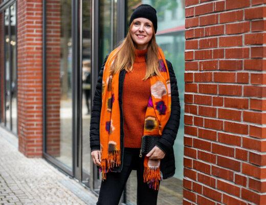Herbstfarbe Orange