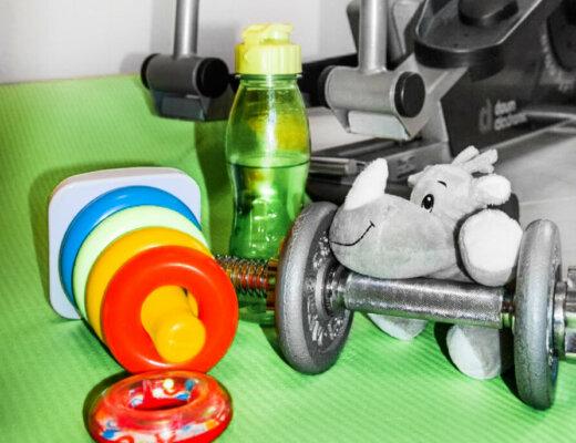 Sport mit Kind