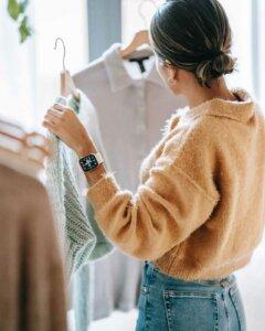 Richtige Kleidergröße kaufen