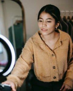 Ringlicht Modeblog