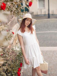 Luftiges Damen Sommer Kleid
