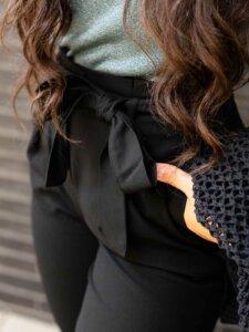 Damenhose Paperbag