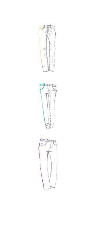 Allgemeine Passformen von MAC Jeans